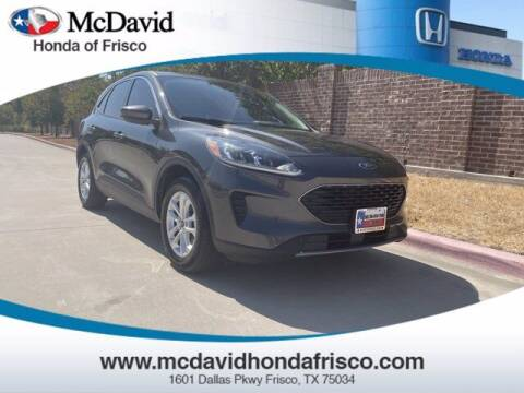 2020 Ford Escape for sale at DAVID McDAVID HONDA OF IRVING in Irving TX