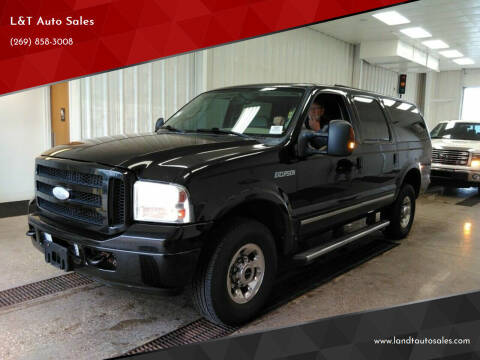 2005 Ford Excursion for sale at L&T Auto Sales in Three Rivers MI