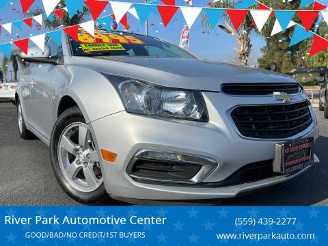 2016 Chevrolet Cruze Limited for sale at River Park Automotive Center in Fresno CA