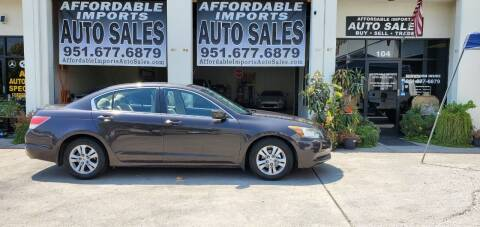 2011 Honda Accord for sale at Affordable Imports Auto Sales in Murrieta CA
