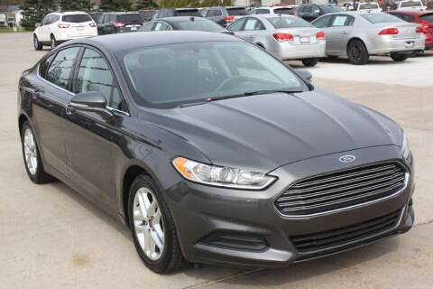 2015 Ford Fusion for sale at Sandusky Auto Sales in Sandusky MI