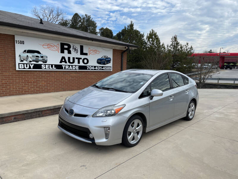 2012 Toyota Prius for sale at R & L Autos in Salisbury NC
