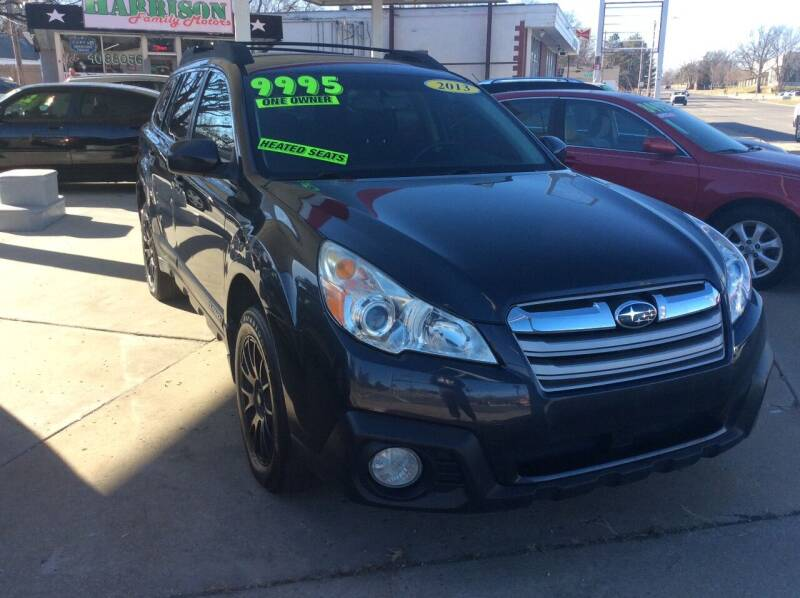 2013 Subaru Outback for sale at Harrison Family Motors in Topeka KS