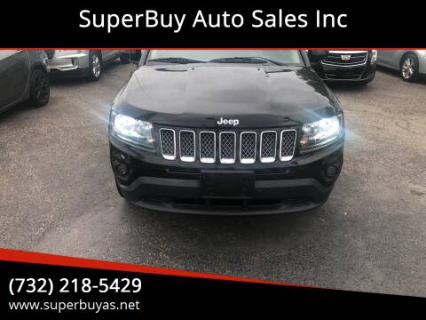 2014 Jeep Compass for sale at SuperBuy Auto Sales Inc in Avenel NJ