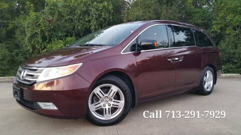 2013 Honda Odyssey for sale at Houston Auto Preowned in Houston TX