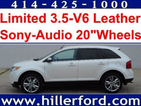 2013 Ford Edge for sale at HILLER FORD INC in Franklin WI