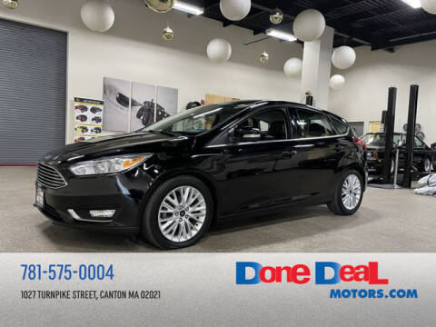 2018 Ford Focus for sale at DONE DEAL MOTORS in Canton MA