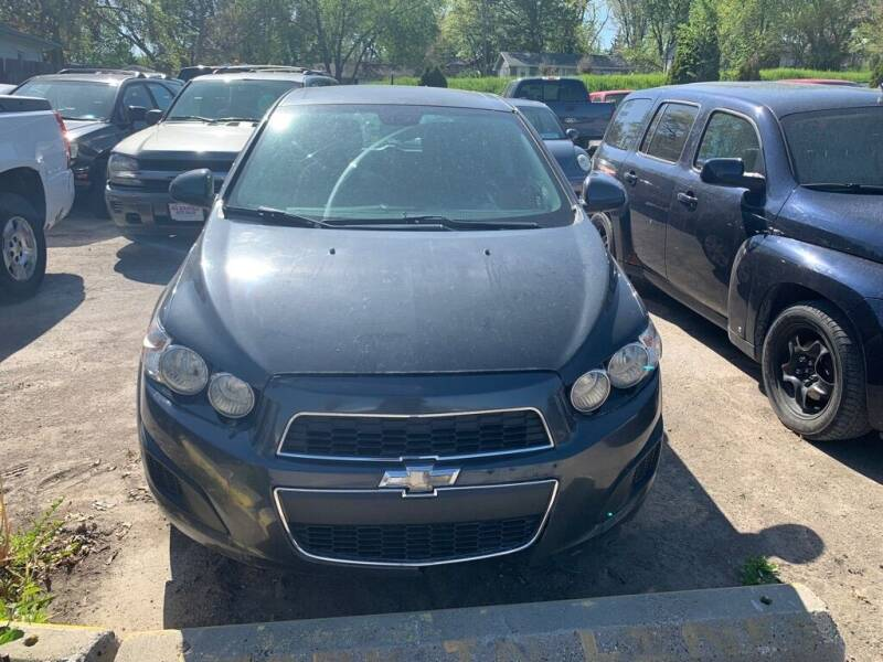2013 Chevrolet Sonic for sale at ALVAREZ AUTO SALES in Des Moines IA