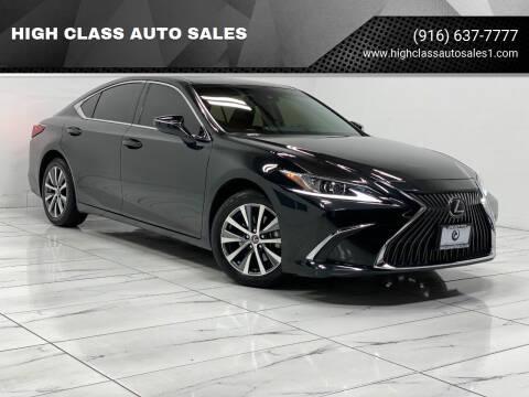 2019 Lexus ES 350 for sale at HIGH CLASS AUTO SALES in Rancho Cordova CA