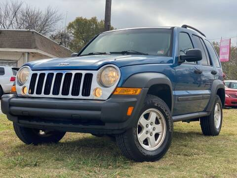 2006 Jeep Liberty for sale at Texas Select Autos LLC in Mckinney TX