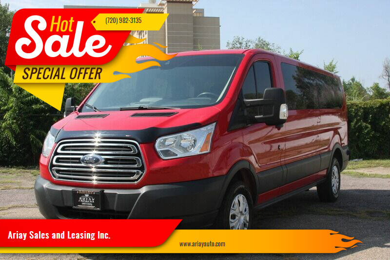 2015 Ford Transit Passenger for sale at Ariay Sales and Leasing Inc. - Pre Owned Storage Lot in Glendale CO