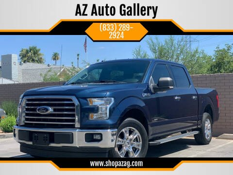 2017 Ford F-150 for sale at AZ Auto Gallery in Mesa AZ