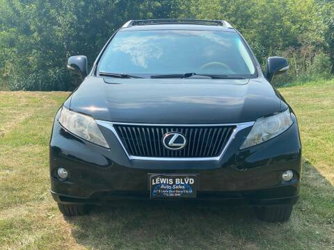 2010 Lexus RX 350 for sale at Lewis Blvd Auto Sales in Sioux City IA