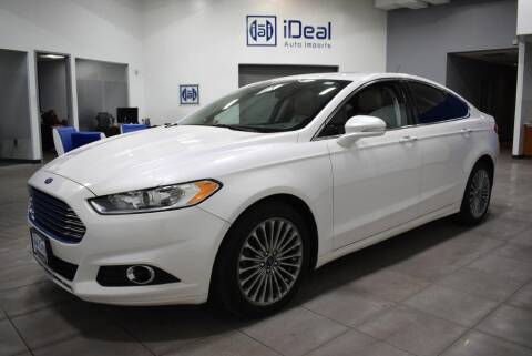 2015 Ford Fusion for sale at iDeal Auto Imports in Eden Prairie MN