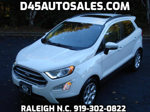 2019 Ford EcoSport for sale at D45 Auto Brokers in Raleigh NC