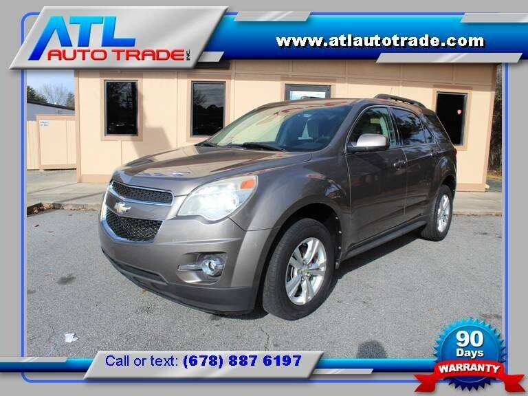 2012 Chevrolet Equinox for sale at ATL Auto Trade, Inc. in Stone Mountain GA