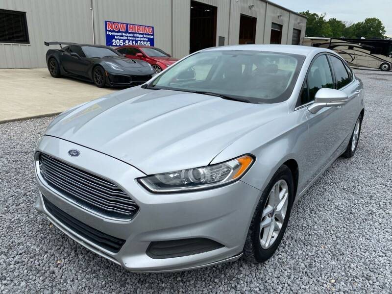 2014 Ford Fusion for sale at Alpha Automotive in Odenville AL