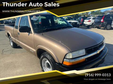 2002 Chevrolet S-10 for sale at Thunder Auto Sales in Sacramento CA