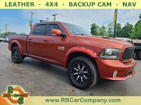 2013 RAM Ram Pickup 1500 for sale at R & B Car Co in Warsaw IN