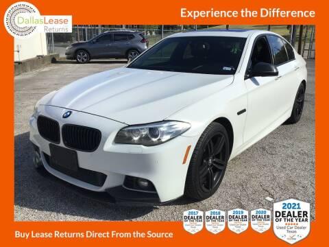 2015 BMW 5 Series for sale at Dallas Auto Finance in Dallas TX