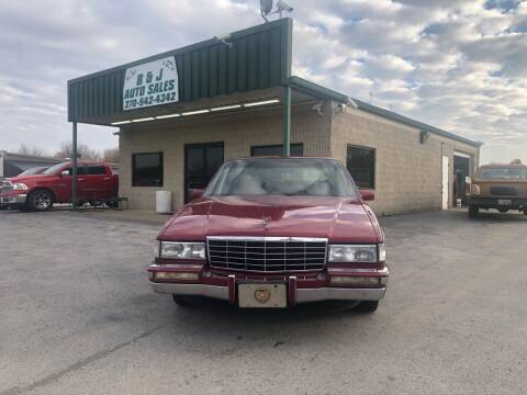 1993 Cadillac DeVille for sale at B & J Auto Sales in Auburn KY