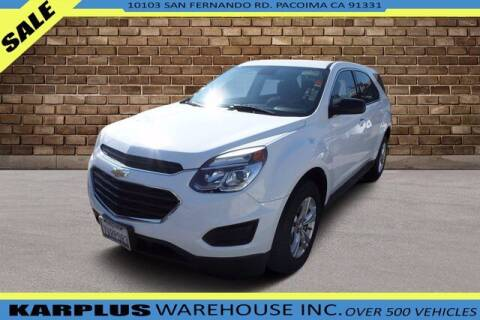 2017 Chevrolet Equinox for sale at Karplus Warehouse in Pacoima CA