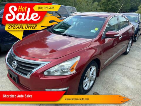 2014 Nissan Altima for sale at Cherokee Auto Sales in Acworth GA