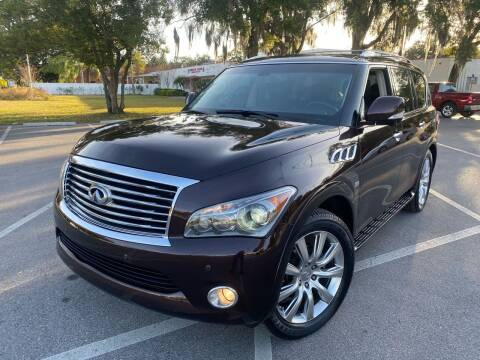 2014 Infiniti QX80 for sale at CHECK  AUTO INC. in Tampa FL