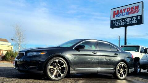 2014 Ford Taurus for sale at Hayden Cars in Coeur D Alene ID