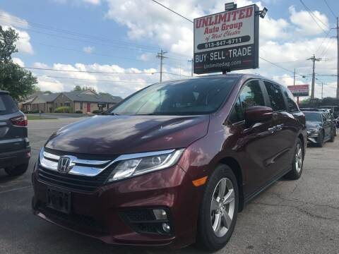 2018 Honda Odyssey for sale at Unlimited Auto Group in West Chester OH