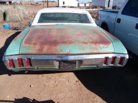 1970 Chevrolet Impala for sale at BENHAM AUTO INC in Lubbock TX