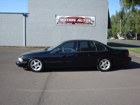 1995 Chevrolet Impala for sale at Motion Autos in Longview WA