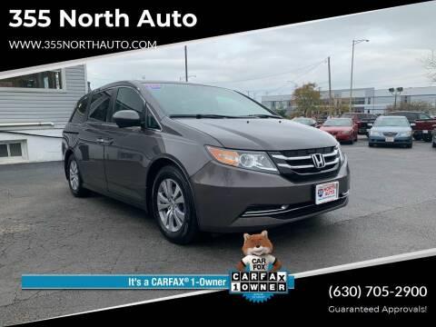 2016 Honda Odyssey for sale at 355 North Auto in Lombard IL