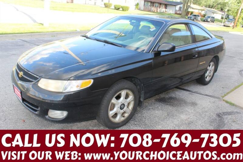2001 Toyota Camry Solara for sale at Your Choice Autos in Posen IL