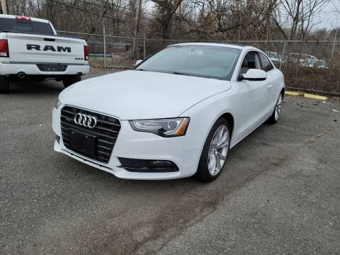 2014 Audi A5 for sale at AW Auto & Truck Wholesalers  Inc. in Hasbrouck Heights NJ