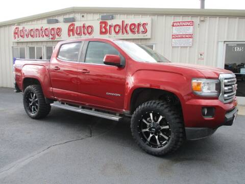 2016 GMC Canyon for sale at Advantage Auto Brokers Inc in Greeley CO