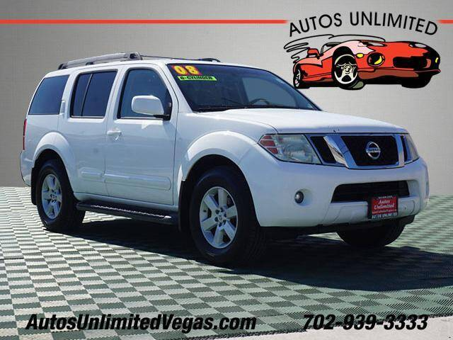 2008 Nissan Pathfinder for sale at Autos Unlimited in Las Vegas NV