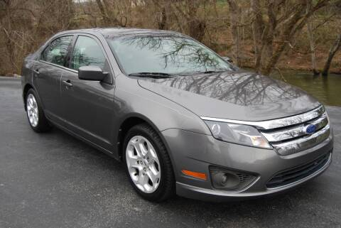 2011 Ford Fusion for sale at DOE RIVER AUTO SALES in Elizabethton TN