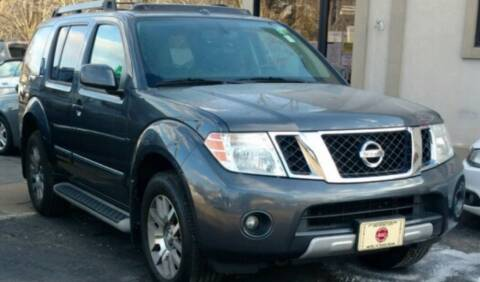 2011 Nissan Pathfinder for sale at BORGES AUTO CENTER, INC. in Taunton MA