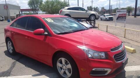 2016 Chevrolet Cruze Limited for sale at CAMEL MOTORS in Tucson AZ