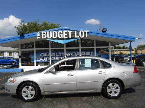 2008 Chevrolet Impala for sale at THE BUDGET LOT in Detroit MI