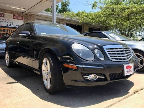 2007 Mercedes-Benz E-Class for sale at Hi-Tech Automotive - Kyle in Kyle TX