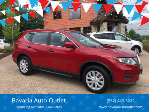 2017 Nissan Rogue for sale at Bavaria Auto Outlet in Victoria MN