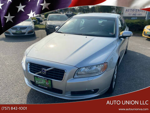 2009 Volvo S80 for sale at Auto Union LLC in Virginia Beach VA
