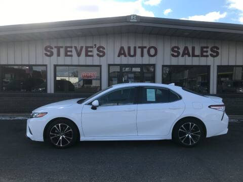 2020 Toyota Camry for sale at STEVE'S AUTO SALES INC in Scottsbluff NE