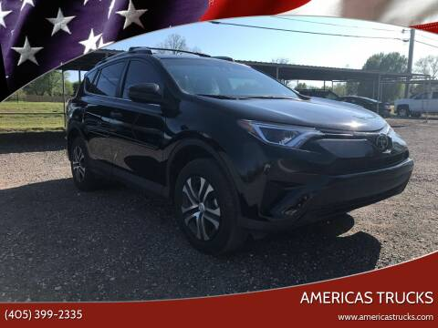 2018 Toyota RAV4 for sale at Americas Trucks in Jones OK