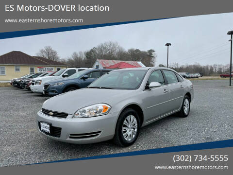 2008 Chevrolet Impala for sale at ES Motors-DAGSBORO location - Dover in Dover DE