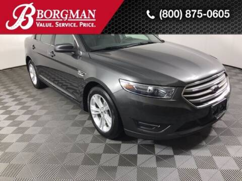2018 Ford Taurus for sale at BORGMAN OF HOLLAND LLC in Holland MI