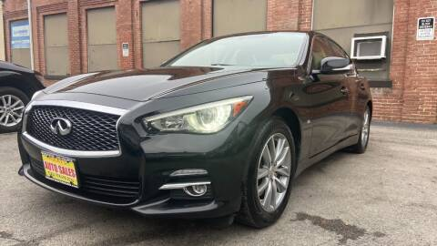 2014 Infiniti Q50 for sale at Rocky's Auto Sales in Worcester MA