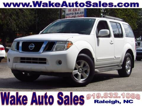 2010 Nissan Pathfinder for sale at Wake Auto Sales Inc in Raleigh NC